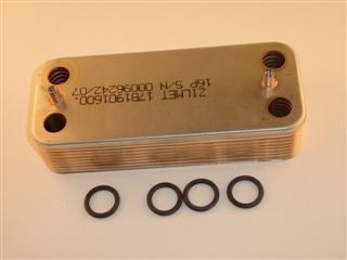 IDEAL 173785 HEAT EXCHANGER & 4 O RINGS C95FF