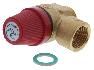FERROLI 39800130 SAFETY VALVE - 3 BAR