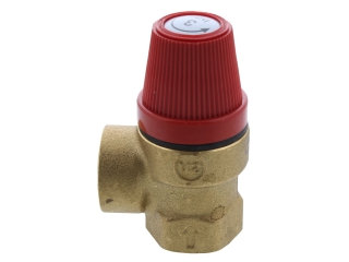 ALPHA SAFETY VALVE 3 BAR (STYLE) 1.021738