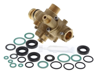 ALPHA 6.5629960A 3 PORT VALVE & SEAL KIT 740