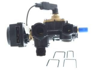 GLOWWORM S801204 DIVERTER VALVE ASSEMBLY COMPLETE (SANIBLOC)
