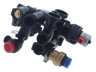 GLOWWORM 0020018574 3 WAY VALVE ASSEMBLY