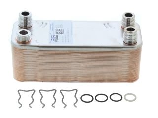 VAILLANT SECONDARY HEAT EXCHANGER, 28 PLATES 064724