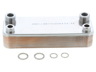 VAILLANT 064946 DHW HEAT EXCHANGER
