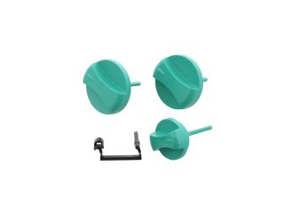 VAILLANT 114286 KNOB, CPL. GREEN (3 KNOBS + LEVER)