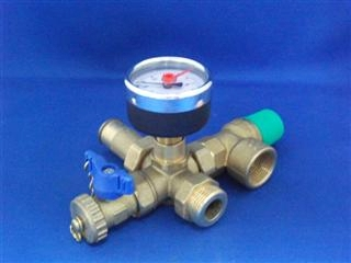VAILLANT 149209 SAFETY VALVE, CPL.