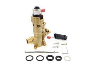 VAILLANT 0020132682 DIVERTER VALVE BRASS WITH ADAPTOR