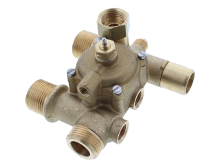 VOKERA 3208 DISTRIBUTION MANIFOLD WITH AUTO BY-PASS