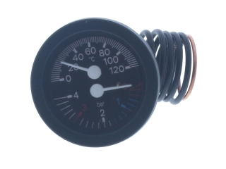 VOKERA 7239 COMBINED PRESSURE AND TEMP. GAUGE