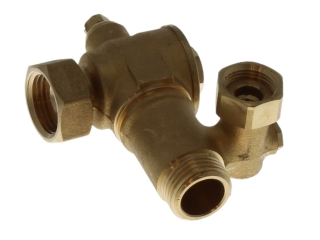 ARISTON 995485 ISOLATING VALVE 1/2 CW INLET