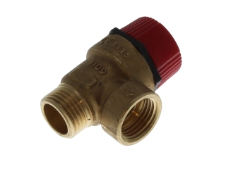 KESTON M0217100 SAFETY VALVE 3BAR 1/2M