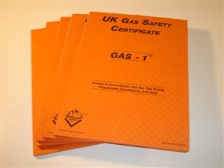 HAYES 663015B GAS 1' UK GAS SAFETY CERTIFICATES REPORT PAD (BULK PACK