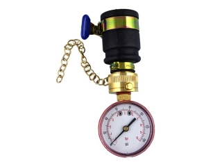 HAYES 664060 MAINS WATER PRESSURE GAUGE 0-6 BAR PUSH ON CONNECTOR