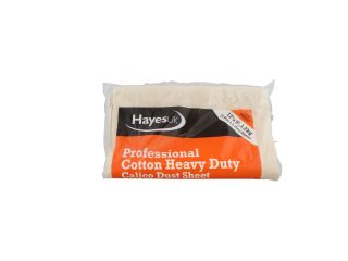 HAYES 666012 12' X 9' PROFESSIONAL COTTON DUSTSHEET