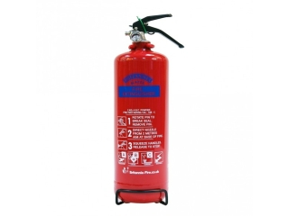 HAYES 999001 1KG ABC DRY POWDER EXTINGUISHER KITEMARKED