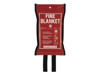 HAYES 997100 10 M X 10 M FIRE BLANKET TO BS EN 1869:1997 KM