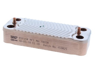 BIASI BI1001101 DHW HEAT EXCHANGER 24S