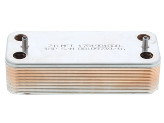 BIASI BI1161100 DOMESTIC HOT WATER HEAT EXCHANGER