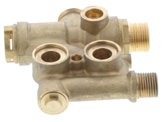 JOHNSON AND STARLEY 1000-0301605 FLOW MANIFOLD (DIVERTER VALVE) LESS DIVERTER HEAD