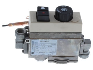 JOHNSON AND STARLEY BOS01104 GAS VALVE C/W THERMOSTAT MINISIT
