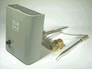 JOHNSON AND STARLEY S00683 THERMOSTAT (COMBINED)(MILLIVOLT AND ELECTRONIC IGN. MODELS