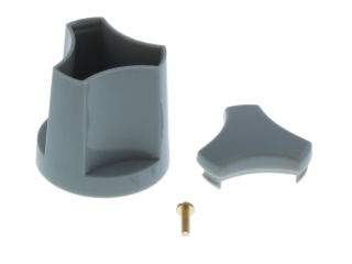 HEATRAE 95605446 KNOB CONTROL ON/OFF LT GREY