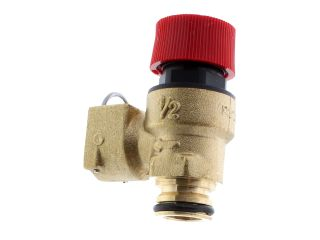 RAVENHEAT 0008VAL01018/1 SAFETY VALVE 3 BAR - PUSH FIT TO PUSH FIT CONN