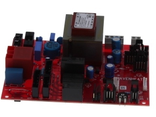 RAVENHEAT 0012CIR06025/0 PRINTED IGNITION CONTROL BOARD RED