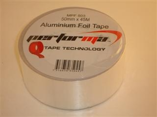 ARCTIC ALUMINIUM TAPE 50MM X 45 METRES - 50OC TO + 110OC