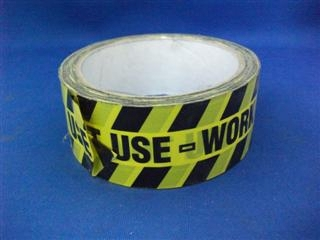 ARCTIC DO NOT USE TAPE 38MM X 33 METRES BLACK ON YELLOW