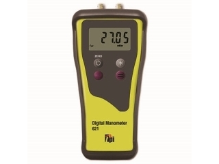 TPI 621 DUAL INPUT MANOMETER C/W 2 DECIMAL PLACE RESOLUTION (MBAR)