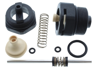 HEATLINE 3003202082 BLACK NUT & SPINDLE KIT FOR DIVERTER VALVE