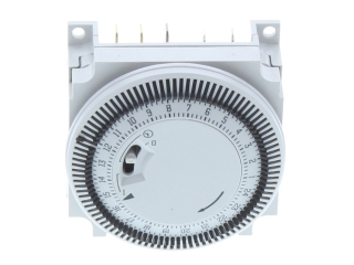 HEATLINE 3003200045 PROGRAMME TIMER (WHITE WITH BLACK TAPPETS)