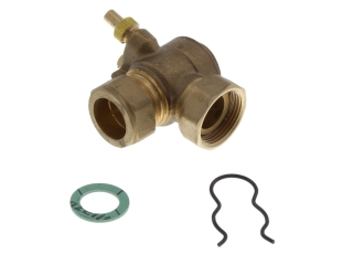 REMEHA 720543401 VALVE TAP FOR 22MM FLOW & RETURN PIPES