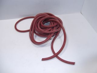 BROAG S101368 7MM RED SILICONE RUBBER CORD (ROUND) - 5M