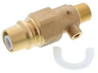 CONTINENTAL BF20152 PE CONNECTION TRANSITION FITTING, 25MM X 3/4