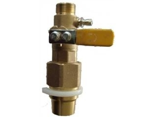 CONTINENTAL BV1TPYELK PE CONNECTION/BALL VALVE COMINATION ADAPTOR
