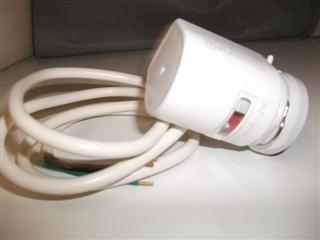 HONEYWELL MT4-230S-NC THERMOELECTRIC ACTUATOR 230V WITH AUX. SWITCH