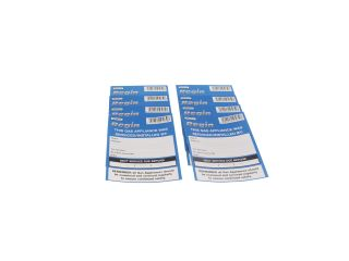 REGIN REGP10 GAS APPLIANCE SERVICED STICKER (8)