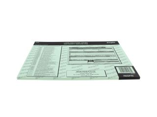 REGIN REGP45 LANDLORDS GAS SAFETY RECORD PAD