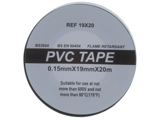 REGIN REGQ641 PVC INSULATION TAPE 20M - BLACK