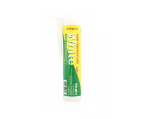 REGIN REGZ35 HIGH TEMP. SILICONE SEALANT WHITE - 310ML