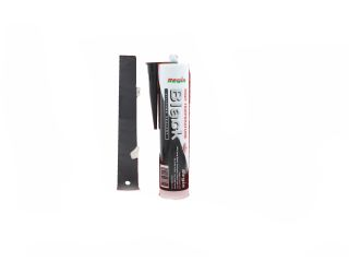 REGIN REGZ37 HIGH TEMP. SILICONE SEALANT BLACK - 310ML