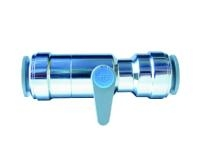 Speedfit Chrome Plated Lever Ball Valves