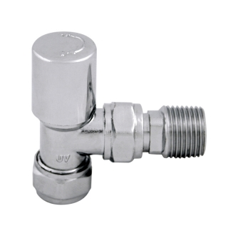 Standard Designer 15mm Chrome Radiator Valves