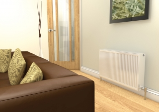 Compact Double Radiators