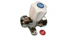 """Image for 15mm x 3/4"""" Straight Backplate Washing Machine Valve"""