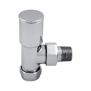 Superior Designer 15mm Chrome Radiator Valves