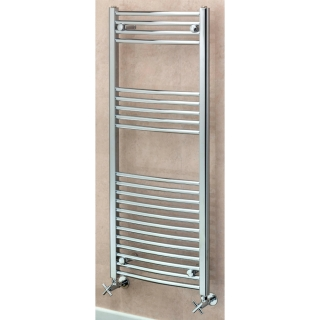 Supplies4Heat Argyll Curved Towel Rail