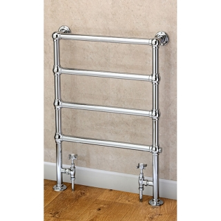 Supplies4Heat Cleves 848x598mm Floor Standing Traditional Towel Rail